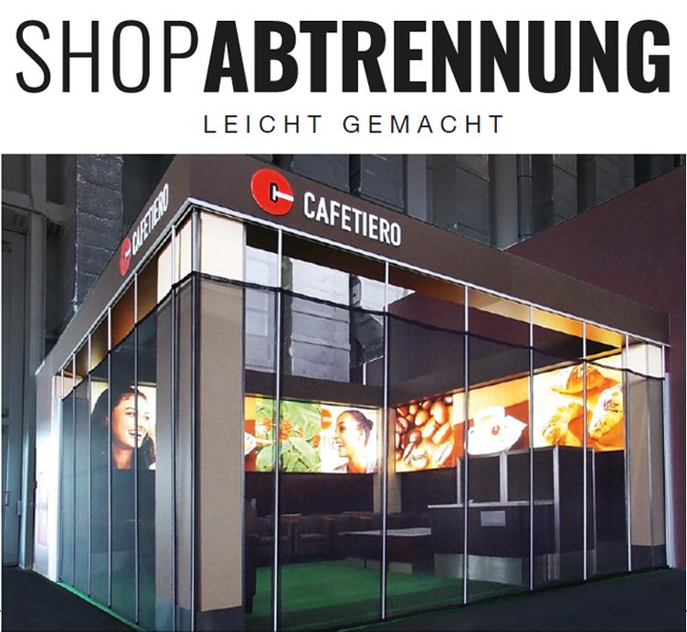 Shopabtrennung Münster Planbar