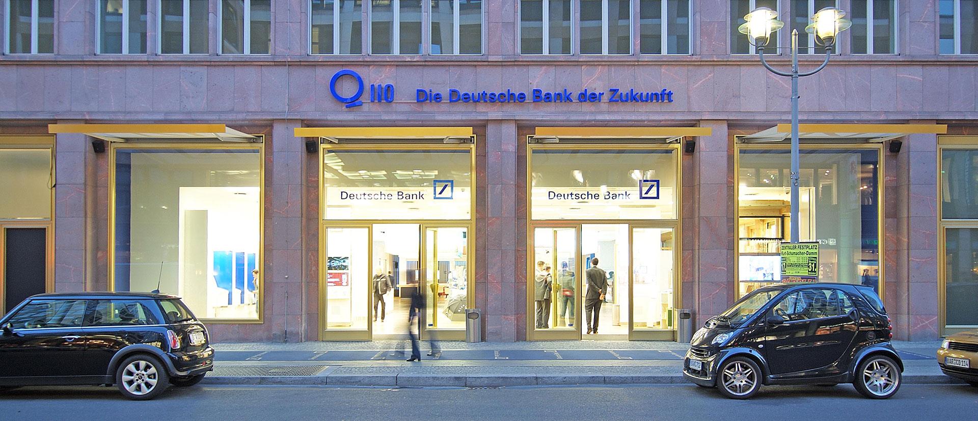 Schaltbares Glas an der Deutschen Bank